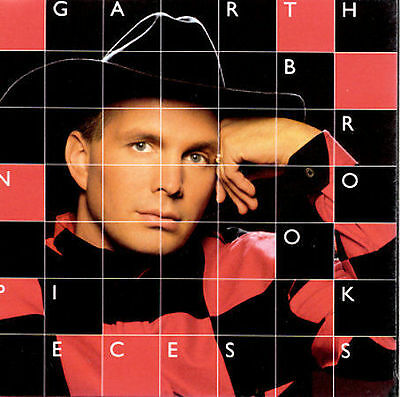 In Pieces by Garth Brooks AUDIO CD *DISC ONLY*