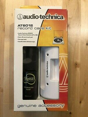 Audio Technica AT6012 Record Care Kit Cleaner
