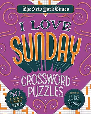 The New York Times I Love Sunday Crossword Puzzles-The New York Times, Will Shor