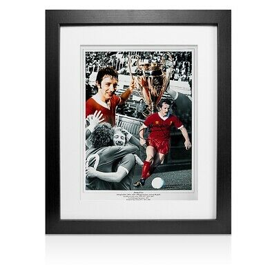 Framed Jimmy Case Signed Liverpool Photo Autograph