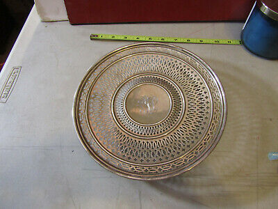 Sterling Silver Detailed Tray Marked Alvin