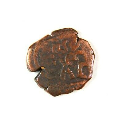 Pirate Treasure Era Spanish Colonial Coin Date 1652 - Exact Lot Shown 2841