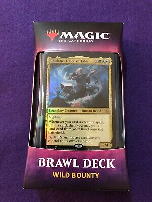 Wild Bounty Sealed Throne of Eldraine Brawl Deck MTG