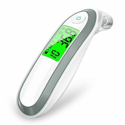 LCD Fieberthermometer Stirnthermometer Ohrthermometer, Infrarot Thermometer