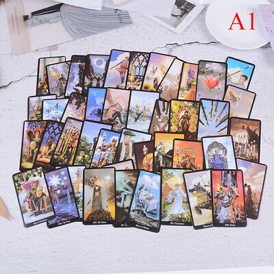 Shadow Scapes 78 Tarot Cards Deck Read Future Board Game Full English Version