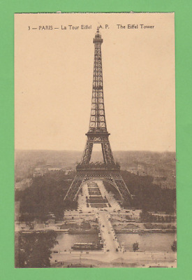 PARIS - LA TOUR EIFFEL vers 1930.