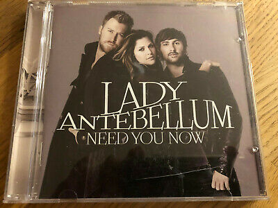 "US Country Music CD Lady Antebellum ""  Need You Now "" TOP Nashville"