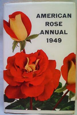 American Rose Annual 1949 Book Of The American Rose Society Vintage Gardening