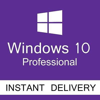 Microsoft Windows 10 Professional Key Win 10 Pro Activation Code Genuine License