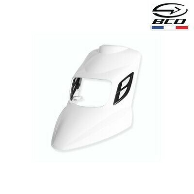 Carena Scudo Anteriore Bcd Rx Mbk Booster Yamaha Bws 2004-2019 Bianco