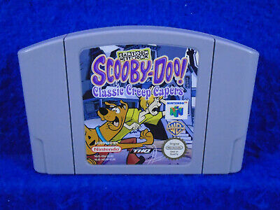 N64 **SCOOBY-DOO Classic Creep Capers Rare Game GENUINE Nintendo Cart PAL Scooby