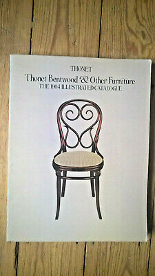 Thonet Bentwood&Other Furniture The 1904 Illustrated Catalogue