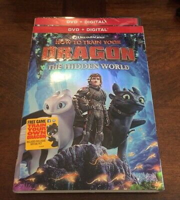 How to Train Your Dragon 3: The Hidden World (DVD, 2019)