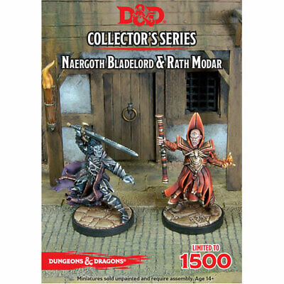 Dungeons & Dragons Collector's Series Rise of Tiamat Miniature Naergoth Blade...