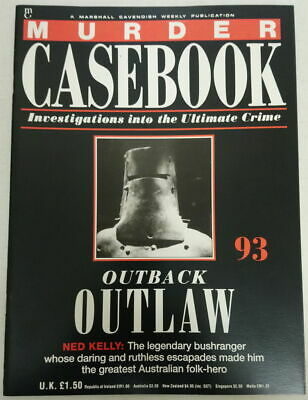 Murder Casebook Magazine #93 Outback Outlaw  : Ned Kelly