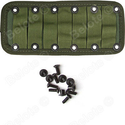 ESEE JUNGLAS MOLLE PANEL Olive Drab Green With Hardware JUNGLAS-PANEL-OD NEW