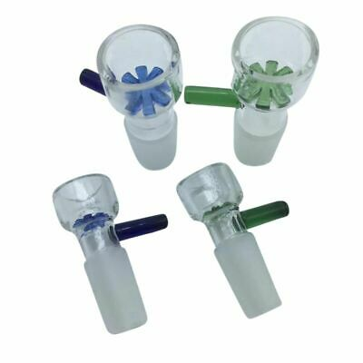 Bowl for Bong Water Pipe Snowflake  14/18mm Male Free USA Shipper