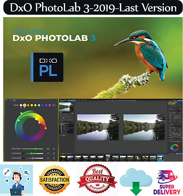 DxO PhotoLab 3✅2019✅The Most Colorful Upgrade Yet🔥Lifetime Activation🔥Windows