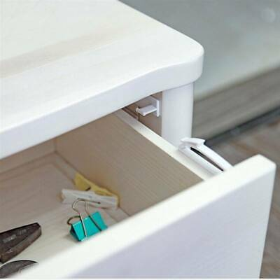 Invisible Latch Locks Baby Safety Cabinet Door Lock Drawer Kids Protection Q