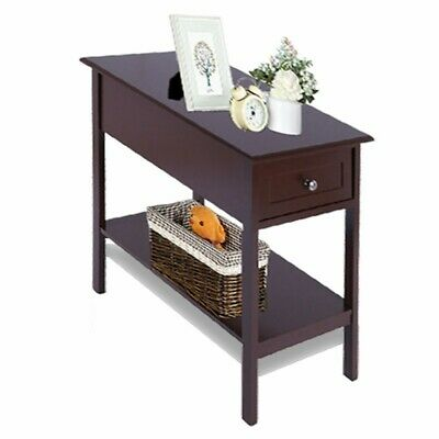 Enjoyable Flip Top Sofa Side End Table Narrow Couch Table Stand Living Ncnpc Chair Design For Home Ncnpcorg