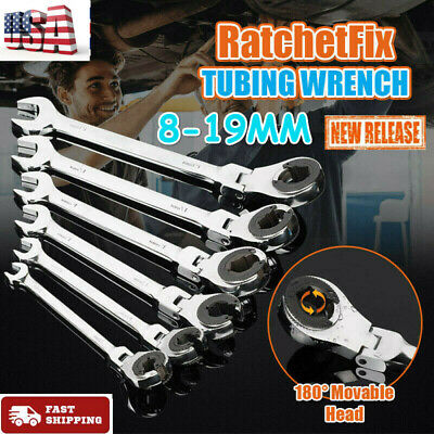 RatchetFix Tubing Wrench with Flexible Head ~ 8-19CM ~ 30% OFF ~ FAST SHIPPING
