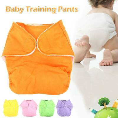 5PCS Swim Nappy Baby Cover Diaper Pants Reusable Nappies Newborn Swimmers AU new