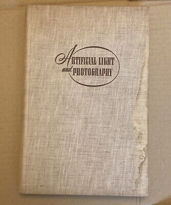 Artificial Light and Photography, Hardback Book 1952