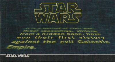 Trading Cards Topps Star Wars Widevision 3Di / 3D Karten Set