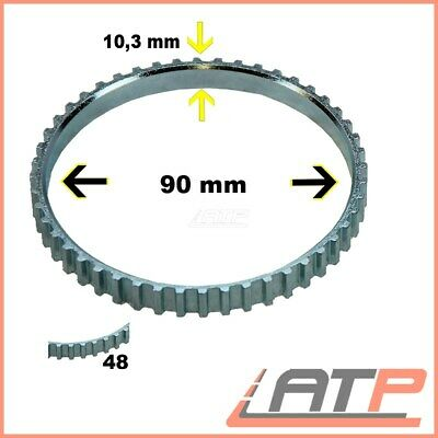 PEUGEOT BOXER 100MM ABS RING DRIVESHAFT RELUCTOR ABS RING 1994/>2007