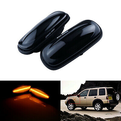 XGB000030SLED LED SMOKED Indicator Side Repeater Lamp Land Rover