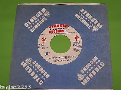 Shirley Graff - Hand over your Heart / You don't have to say - Stargem 7""