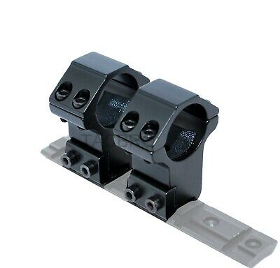 """Rifle Scope Mount Picatinny//Weaver 25mm 1"""" inch ring High Profile One Piece RA27"""