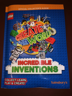 Lego Create The World Incredible Inventions Sainsburys Trading Cards 8 for £1.00