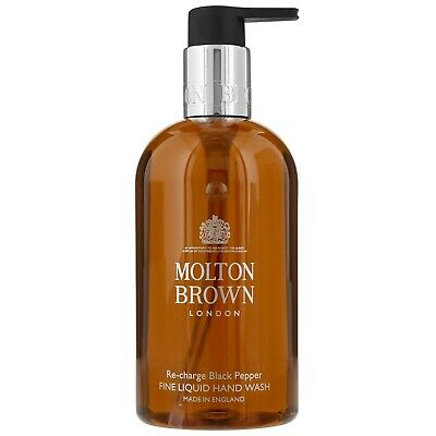 Molton Brown Re-Charge Black Pepper Fine Liduid Hand Wash 300Ml Excellent Gift