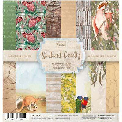 6x6 Couture Creations Sunburnt Country Paper Pad