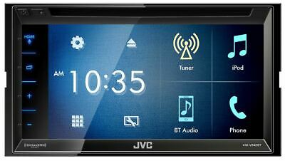 """JVC KW-V340BT 6.2"""" Double-Din Bluetooth DVD/CD/USB Car Receiver AM/FM/Android"""
