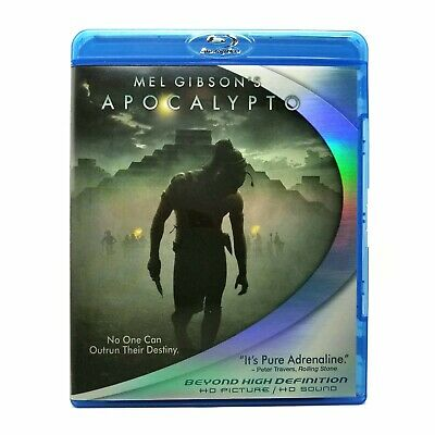 Apocalypto (2006) Like New Blu-ray Directed by Mel Gibson, RARE OUT-OF-PRINT