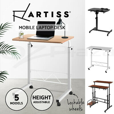 20%OFF Mobile Laptop Desk Computer Table Stand Adjustable Bed Bedside Portable