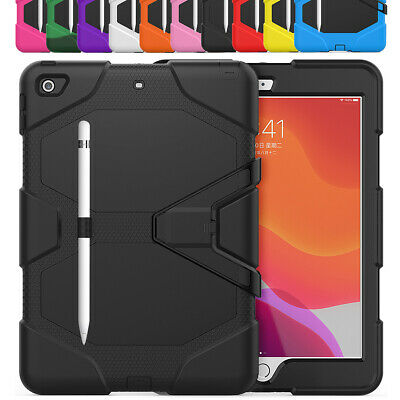 "For Apple iPad 7th Gen 10.2"" 2019 360 Shockproof Full Protective Case with Stand"
