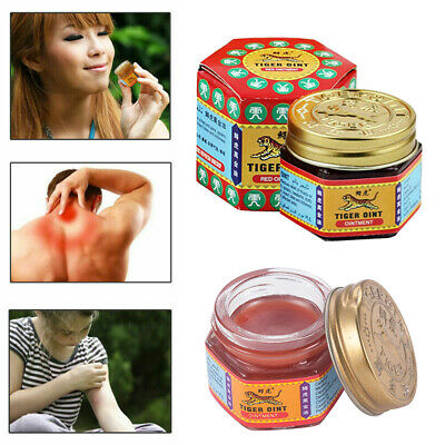30g Originic TIGER Red Balm Thai Herb Massage Ointment Relief Muscle Ache Pain D