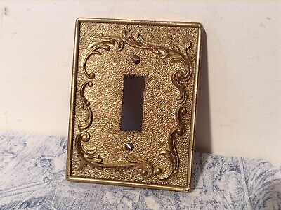 Vintage French Ornate Light Switch Cover, Plate (4095d)