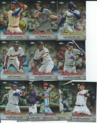 2019 Topps Chrome Update Insert- The Family Business- You Pick- Griffey Jr +++