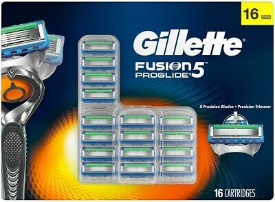 Fast Free Shipping! Gillette Fusion5 ProGlide Cartridges 16-count