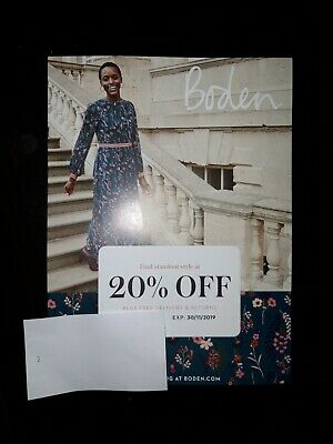 BODEN Voucher 20% Off Discount Shop Online Clothing Men Women