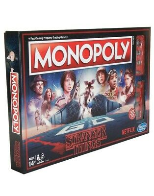 Monopoly Netflix Stranger Things Edition Officially Licensed C4550 New Sealed