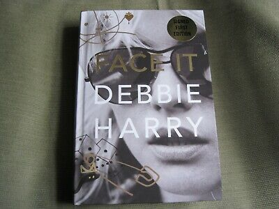 Debbie Harry Signed - Face It - Limited First Edition - Blondie Memoir - New