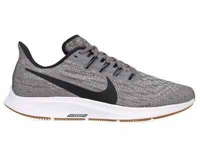 Nike Men's Air Zoom Pegasus 36 Running Shoes - Gunsmoke/Oil Grey/White