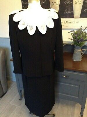Gina Bacconi Dress Jacket Outfit Mother Of The Bride Uk 14