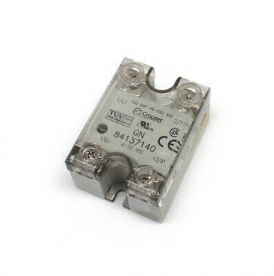 Crouzet 84137140 Solid-State Relay 100 Amp 4-32Vdc 48-660Vac