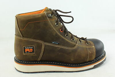 Timberland PRO Mens Gridworks Brown Work & Safety Boots Size 11 (E, W) (676398)